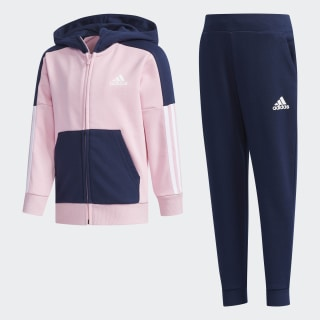Fitted Trainingsanzug Multicolor / Collegiate Navy DY9234