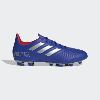 Zapatos de Fútbol Predator 19.4 Multiterreno bold blue / silver met. / active red BB8113