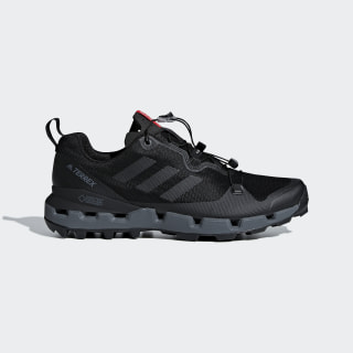Zapatilla adidas TERREX Fast GTX Surround Core Black / Grey Five / Hi-Res Red AQ0365
