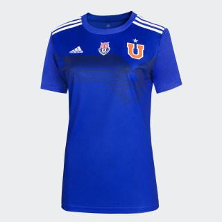 Camiseta U. de Chile adidas 70 años Mujer Bold Blue EV6195