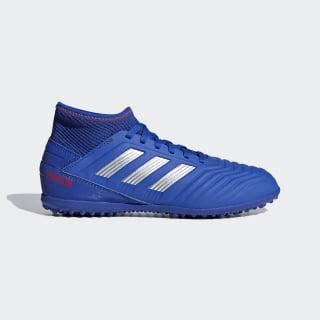 Calzado de Fútbol Predator Tango 19.3 Pasto Sintético Bold Blue / Silver Metallic / Active Red CM8546