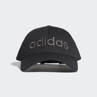 Embroidered Baseball Cap Black / Grey Six / Black ED0238