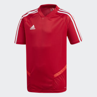 Tiro 19 Training Voetbalshirt Power Red / White D95938