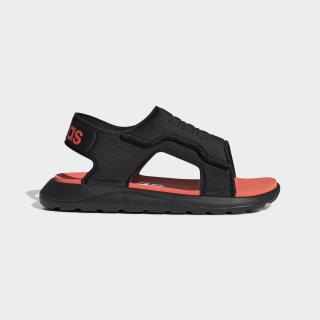 Comfort Sandals Core Black / Solar Red / Cloud White EG2232