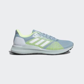 Кроссовки для бега Solar Blaze ash grey s18 / ftwr white / hi-res yellow F34546