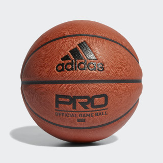 Pallone Pro Official Game Basketball Natural / Black / Black DY7891