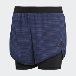 Shorts Climachill Training NOBLE INDIGO S18/BLACK CF7230