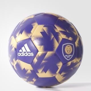 Bola Futebol Orlando City REGAL PURPLE-SLD/MATTE GOLD AZ5430