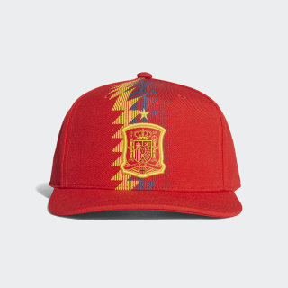 Gorra Spain Home Flat-Brim 2018 RED/POWER RED/BOLD GOLD CF4972