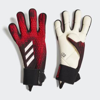Predator 20 Pro Goalkeeper Gloves Black / Active Red FH7287