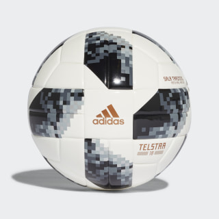 Bola FIFA World Cup Sala Treino 2018 WHITE/BLACK/SILVER MET. CE8148