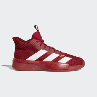 Баскетбольные кроссовки Pro Next 2019 scarlet / ftwr white / active maroon F97273