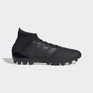 Scarpe da calcio Predator 19.1 Artificial Grass Core Black / Core Black / Utility Black EF8982