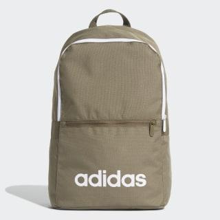 Linear Classic Daily Backpack Raw Khaki / White / White ED0291