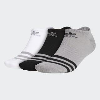 Roller No Show Socks 3 Pairs Light Onix CH7699
