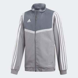 Tiro 19 Presentation Jacket Grey / White DW4789