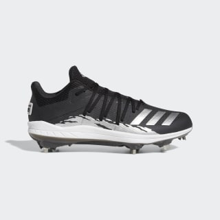 Afterburner 6.0 Speed Trap Cleats Core Black / Silver Metallic / Cloud White G27654