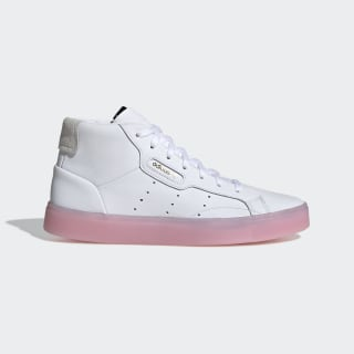 adidas Sleek Mid Shoes Cloud White / Cloud White / Diva EE8612
