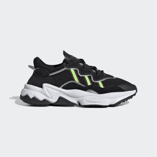 Zapatillas OZWEEGO J core black/solar green/onix EE7772