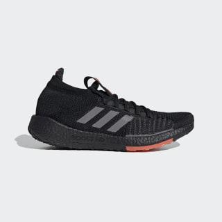 Zapatillas para correr Pulseboost HD Core Black / Grey Three / Signal Coral EG0971