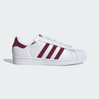 Superstar Shoes Cloud White / Collegiate Burgundy / Cloud White EF9240