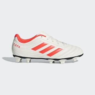 Chimpunes de Fútbol Copa 19.4 Multiterreno off white/solar red/off white D98087