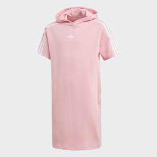 Vestido con capucha Marble Light Pink / White DV2362