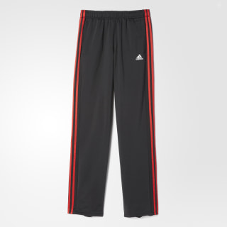 Essentials Track Pants Black / Scarlet S90423