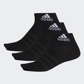 Ponožky Ankle – 3 páry Black / Black / Black DZ9436