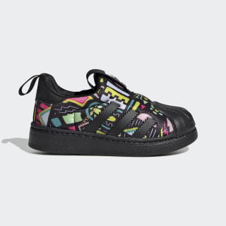 Superstar 360 Shoes Core Black / Core Black / Cloud White EE8389