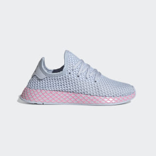 Tênis Deerupt J aero blue s18 / true pink / core black CM8658