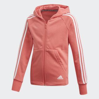 Must Haves 3-Stripes Hoodie Prism Pink / White DV0320