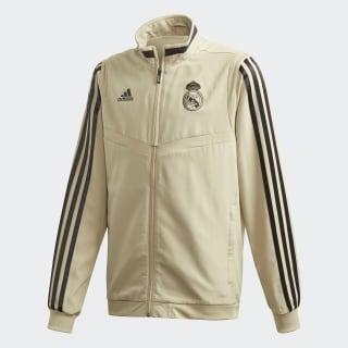 Real Madrid Präsentationsjacke Raw Gold / Black EI7474