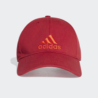 Gorra 6P Cotton active maroon/active maroon/active orange EA0438