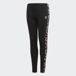 LZ Leggings Black / Multicolor FM9995