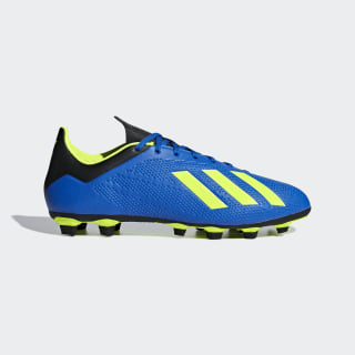 Chuteira X 18.4 Fxg FOOTBALL BLUE/SOLAR YELLOW/CORE BLACK DA9336