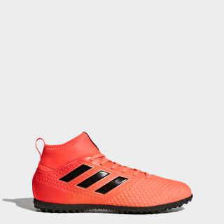 Calzado de Fútbol ACE Tango 17.3 Césped Artificial Solar Red / Core Black / Solar Orange BY2205