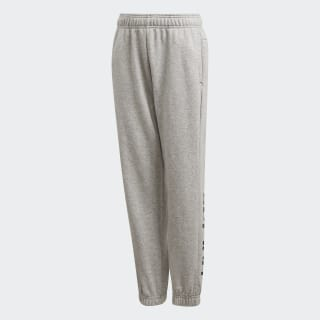 Essentials Linear Hose Medium Grey Heather / Black DV1807