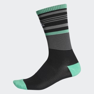Tour Stripe Crew Socks Black CF8379