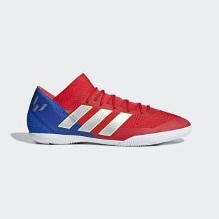 Nemeziz Messi Tango 18.3 Indoor Shoes Active Red / Silver Metallic / Football Blue D97269