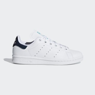 Zapatillas STAN SMITH J FTWR WHITE/FTWR WHITE/HI-RES AQUA F18 B37185