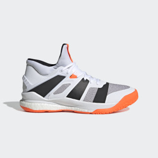 Stabil X Mid Shoes Cloud White / Core Black / Solar Orange F33827
