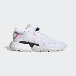 POD-S3.1 Shoes Cloud White / Cloud White / Shock Red DB3537