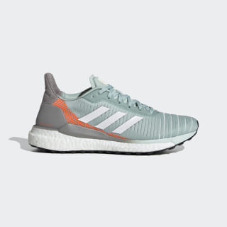 Solar Glide 19 Shoes Green Tint / Cloud White / Signal Coral EH2591