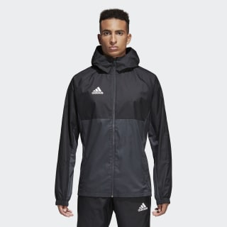 Tiro 17 Rain Jacket Black / Grey / White AY2889