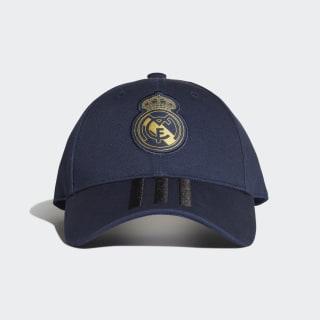 Real Madrid 3-Stripes Cap Night Indigo / Black / Matte Gold DY7721