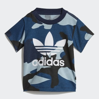 T-shirt Camouflage Multicolor / White DW3853
