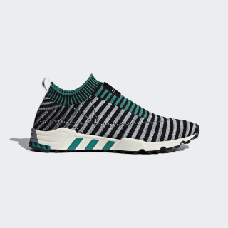 EQT Support SK Primeknit Schuh Core Black / Grey One / Sub Green B37522