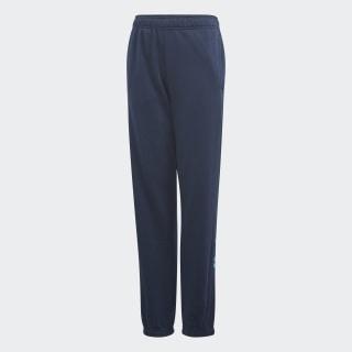 Essentials Linear Pants Collegiate Navy / Shock Cyan DV1808