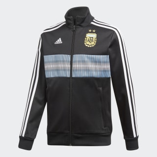 Campera Selección Argentina 3 Tiras 2018 BLACK/WHITE CE6652